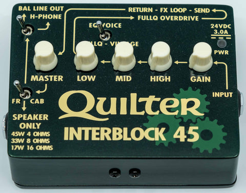 Quilter Performance Amplification - InterBlock 45 - Head