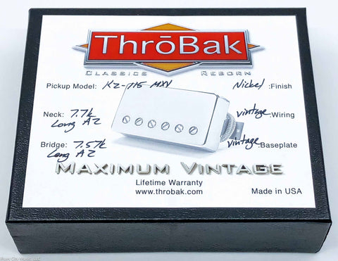 ThroBak KZ-115 - P.A.F. Humbuckers - Shiny