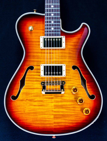 Knaggs Guitars - Influence Chena - Duanne Allman Burst -Hollowbody