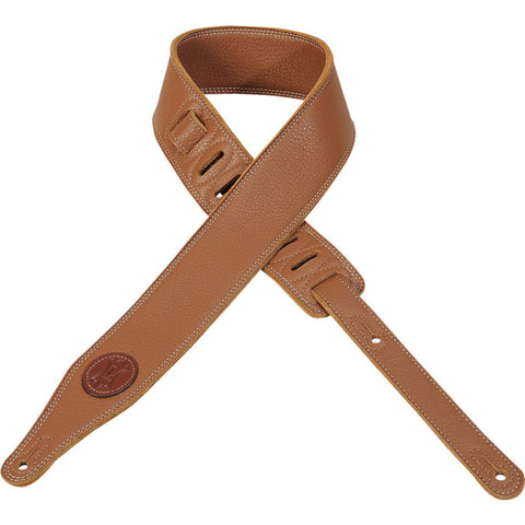 M17SS-TAN Garment Leather Guitar Strap