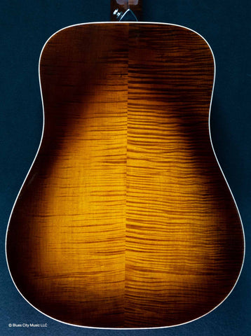 MacMillan Guitars - Dreadnought - Englemann Spruce Top - Curly Maple B/S - #077