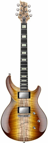 Diamond Guitars Monarch FM - Trans Carmel Burst Electric Guitar