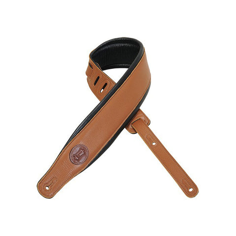 MSS2-TAN Garment Leather Guitar Strap
