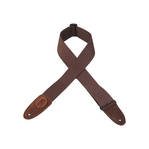 MSSC8-BRN Cotton Guitar Strap