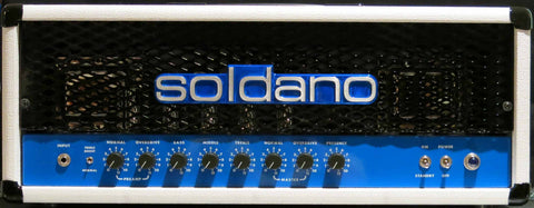 Soldano (SLO-100) Haynes, Scoop, Depth, 1/2 power, Effects Loop Bypass