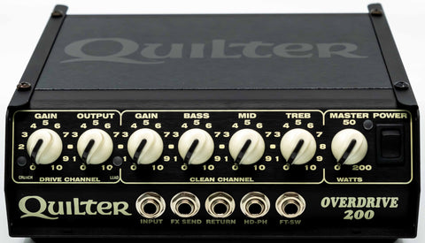 Quilter Performance Amplification - Overdrive 200 - Head