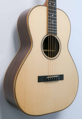 MacMillan Guitars - Parlor - Adirondack Spruce Top - Indian Rose Wood Back and Sides