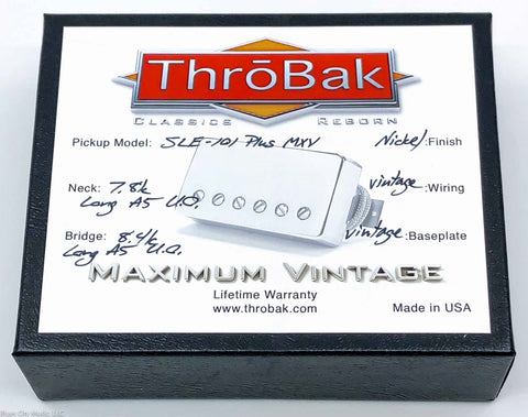 ThroBak SLE-101 Plus - P.A.F. Humbuckers - Shiny