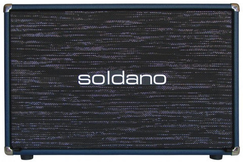 "Soldano 2x12"" Closed Back Cabinet"