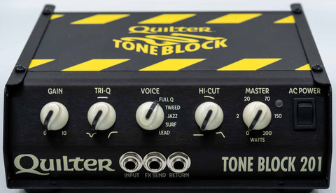 Quilter Performance Amplification - Tone Block 201 - Head