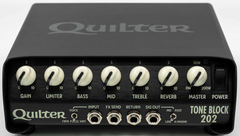 Quilter Performance Amplification - Tone Block 202 - Head