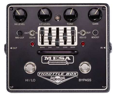 Mesa Boogie Throttle Box EQ - Overdrive