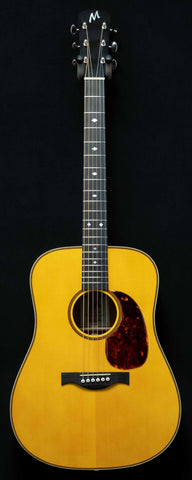 MacMillan Guitars - Dreadnought - Englemann Spruce Top - Flame Mahogany B/S - #068