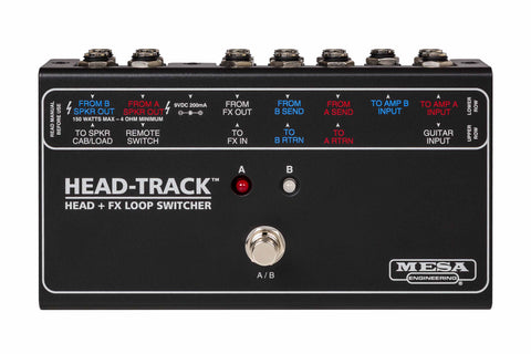 Mesa Boogie - Head Track - Head + FX Loop Switcher