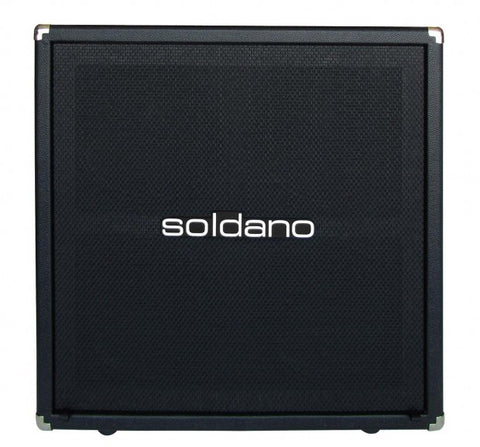 "Soldano 4 x 12"" Lucky 13 Straight Cabinet (No Speakers)"