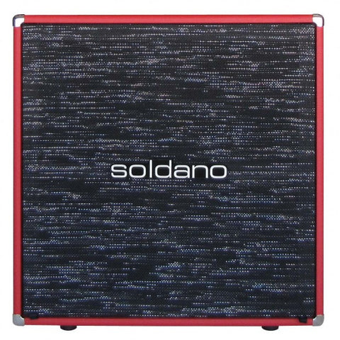 "Soldano 4 x 12"" Straight Cabinet (No Speakers)"