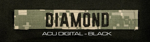 Diamond Tactical ACCESSORY NAME TAPE