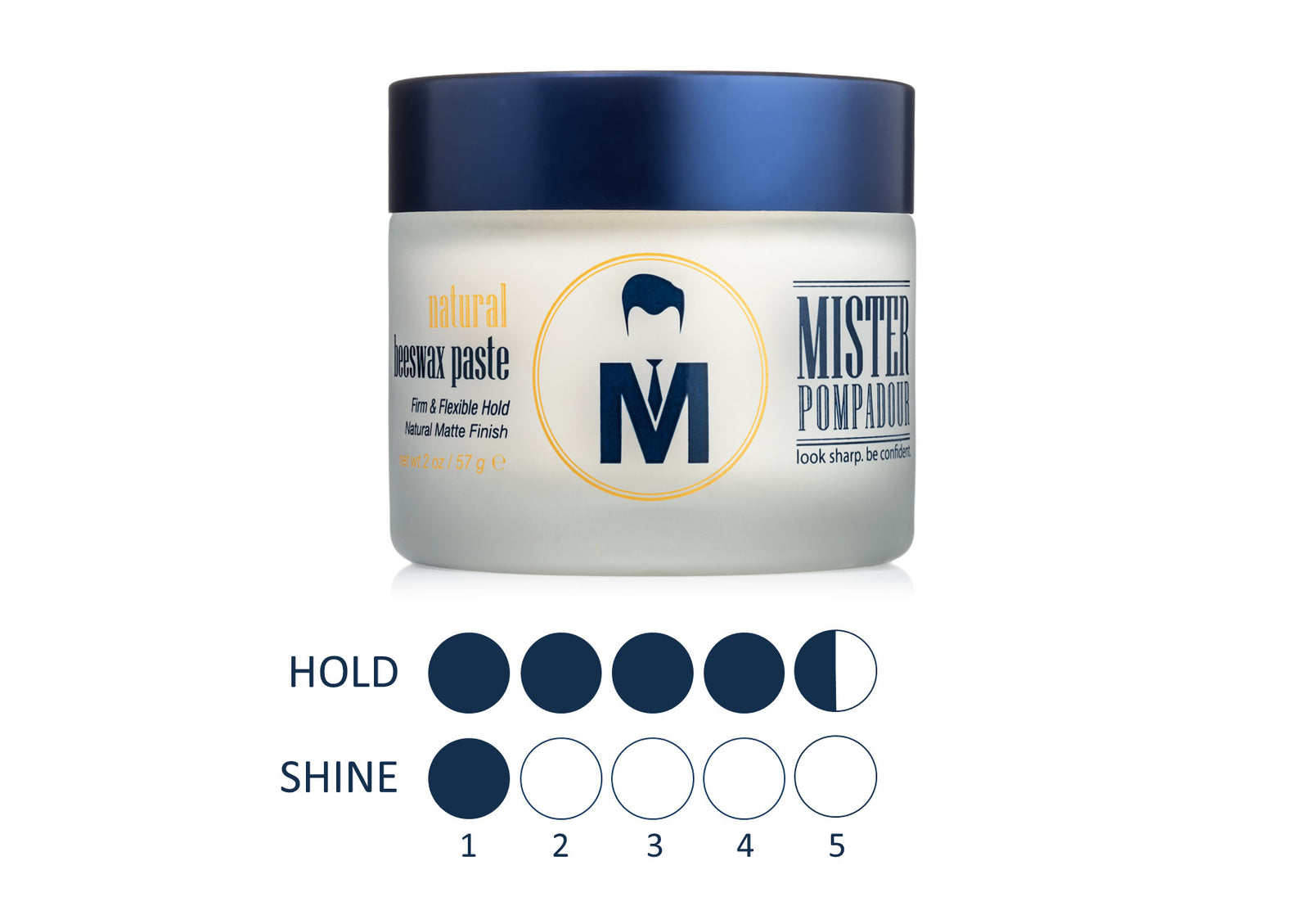 Mister Pompadour Men S Grooming Products Look Sharp Be