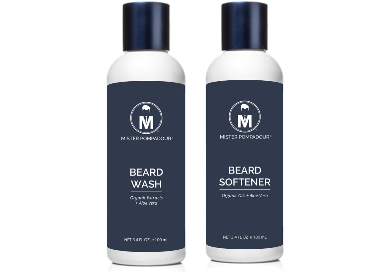 Beard Shower Set, 3.4 oz (Organic)