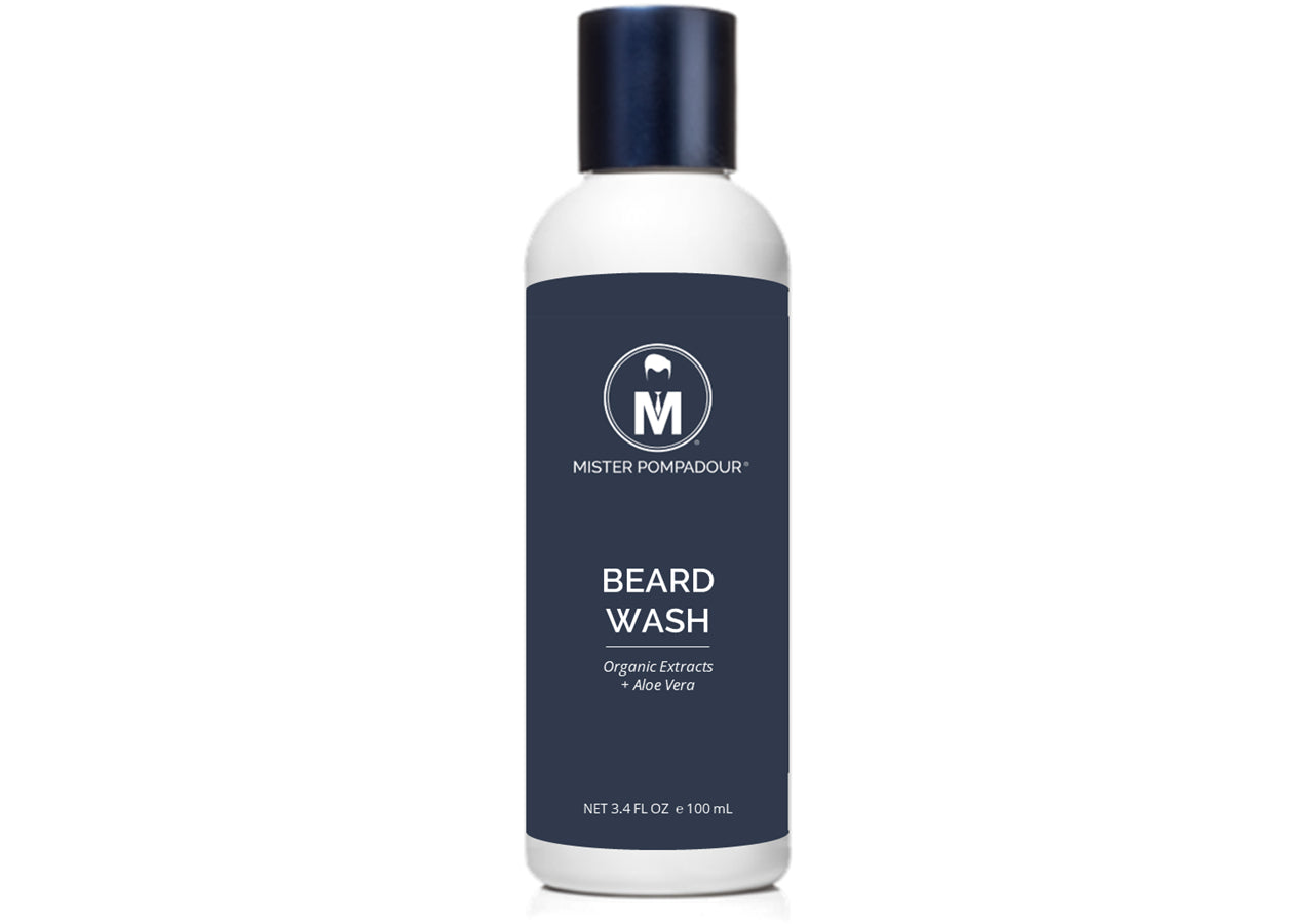 Beard Wash, 3.4 oz (Organic)