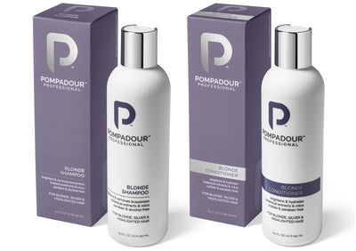 Mister Pompadour - Blonde Shower Set