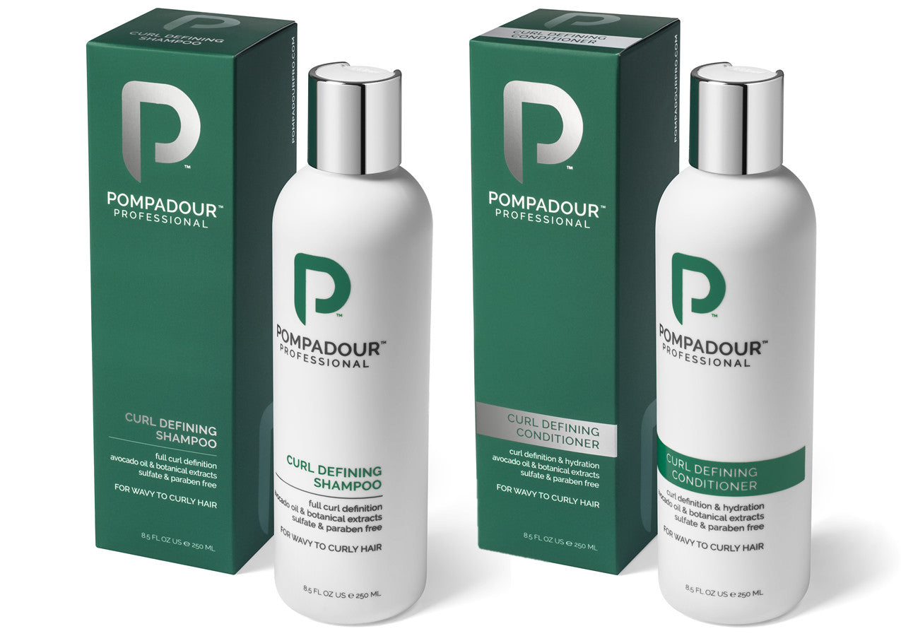 Mister Pompadour - Curl Defining Shower Set (Discounted)