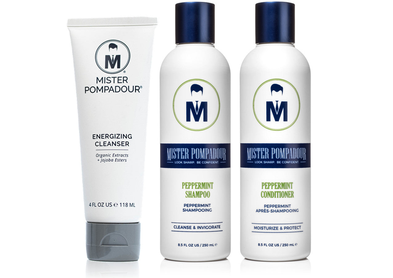 Mister Pompadour - Complete Shower Set