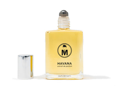 Mister Pompadour - HAVANA Roll-On Cologne, 0.5 oz