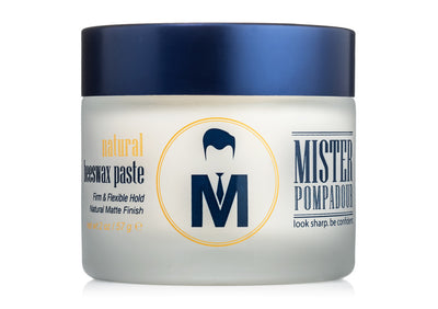 Mister Pompadour - Natural Beeswax Paste, 2 oz