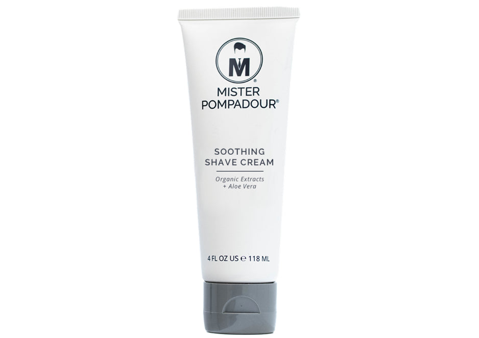 Mister Pompadour - Soothing Shave Cream, 4 oz