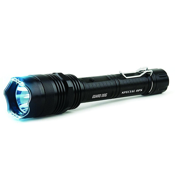 Guard Dog Special Ops 8,000,000 Stun Gun 380 Lumen Tactical Flashlight