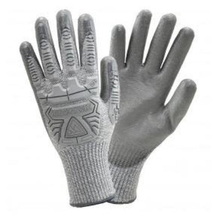 Gloves West Chester  PIP 710HGUB R2 Silver Fox Seamless Knit HPPE Blended - Polyurethane Coated Smooth Grip