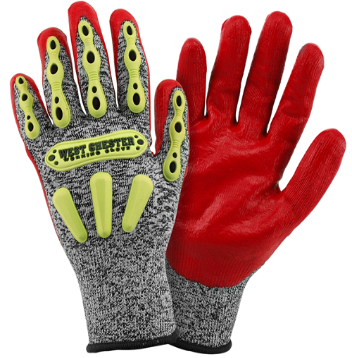 Gloves West Chester 713 R2 FLX Knuckle Protection Gloves.