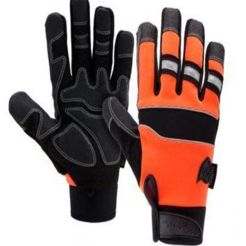 Gloves West Chester 86525 Pro-Series Hi-Dexterity Hi-Vis Safety Glove - Orange