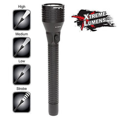 Flashlight, Rechargeable, Xtreme Lumens, Multi Function, Full Size, Metal, NSR-9746XL