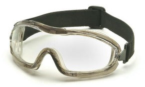 Goggles- Pyramex Capstone G704T Anti-Fog Clear Lens, Low Profile