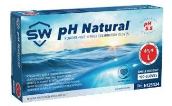 TrueForm® TF-051-095-PHN-BL Nitrile Exam Gloves with pH Natural®, SW® XLarge