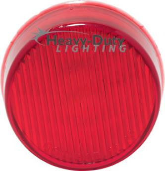 "HD20010R  2"" Round RED LED Clearance Marker"