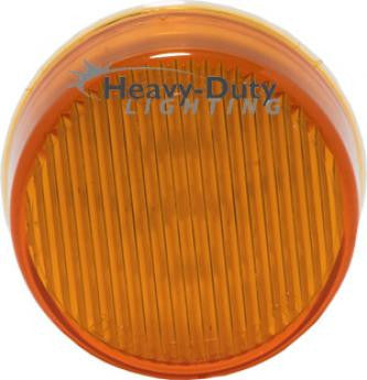 "HD20010Y 2"" Round Amber LED Clearance Marker"