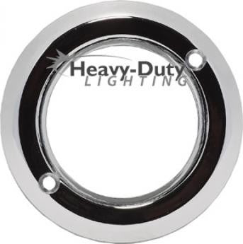 "HD00030  4"" Chrome Plastic Grommet Cover"