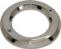 "HD25096PC  2 1/2"" Chrome Plastic Grommet Cover"