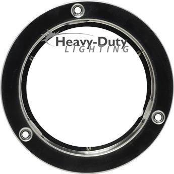 "HD40099SS  4"" Round Stainless Steel Security Flange"