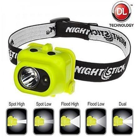 Headlamp, Intrinsically Safe Multi-Function Dual-Light XPP-5454G