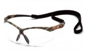 Safety Glasses-Pyramex PMXTREME  SCM6310STP  - Camo Frame - Clear Anti-Fog Lens