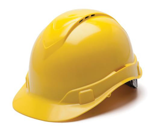 Hard Hat Ridgeline Cap-Style Standard Shell Vented 4 Point