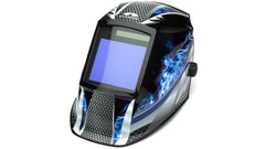 Fire Metal Decorated Auto Darkening Helmet WHAM3030FM