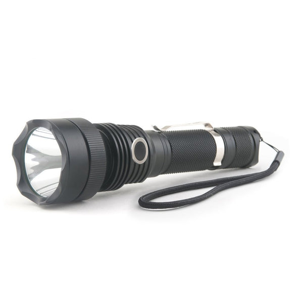 Xcess Ultra Bright - 550 Lumen 4 Functions Rechargeable Tactical Flashlight