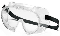 Goggles-Pyramex G204T Clear Anti-Fog Chemical Splash Goggle