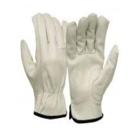 Gloves Pyramex GL2004K Grain Cowhide Leather Keystone Thumb Driver