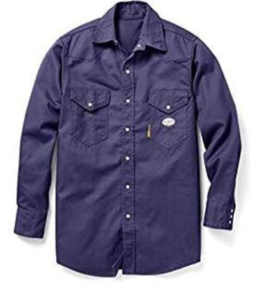 10 oz. 100% Cotton Denim Workshirt, Rasco FR, NFR1015